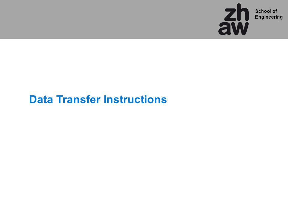 School of Engineering Data Transfer Instructions