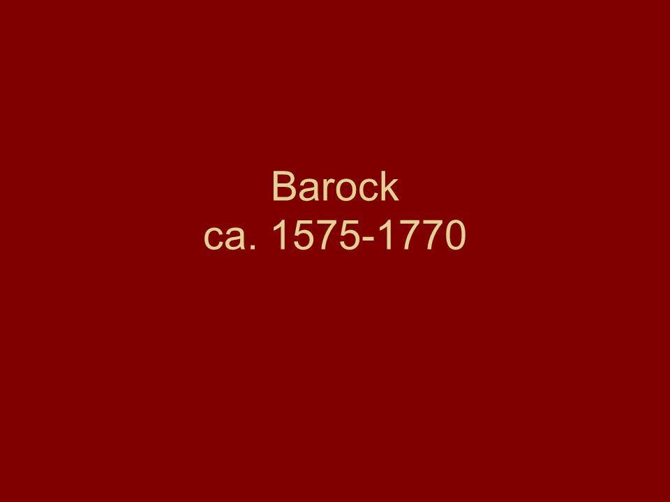 Periode zwischen Renaissance und Klassizismus Der Spätbarock wird Rokoko genannt baroco portugiesisch schiefrund, eine unregelmäβig geformte Perle Barock ist eine Kunstform der Gegenreformation und des Absolutismus (Macht und zunehmende Unabhängigkeit der Fürsten)