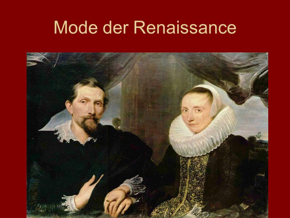Mode der Renaissance