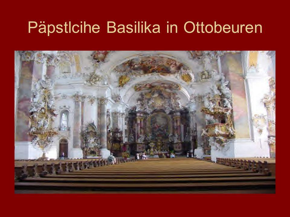 Päpstlcihe Basilika in Ottobeuren