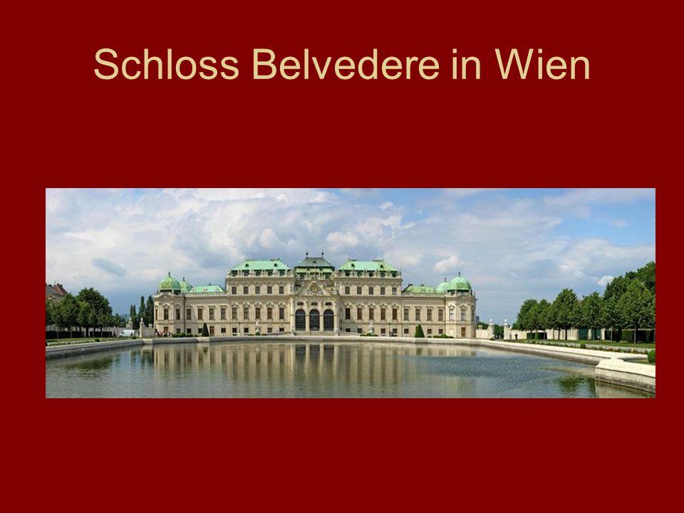 Schloss Belvedere in Wien