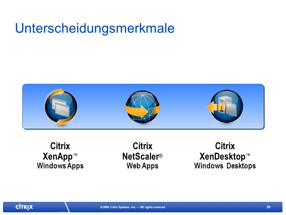 29 © 2008 Citrix Systems, Inc.
