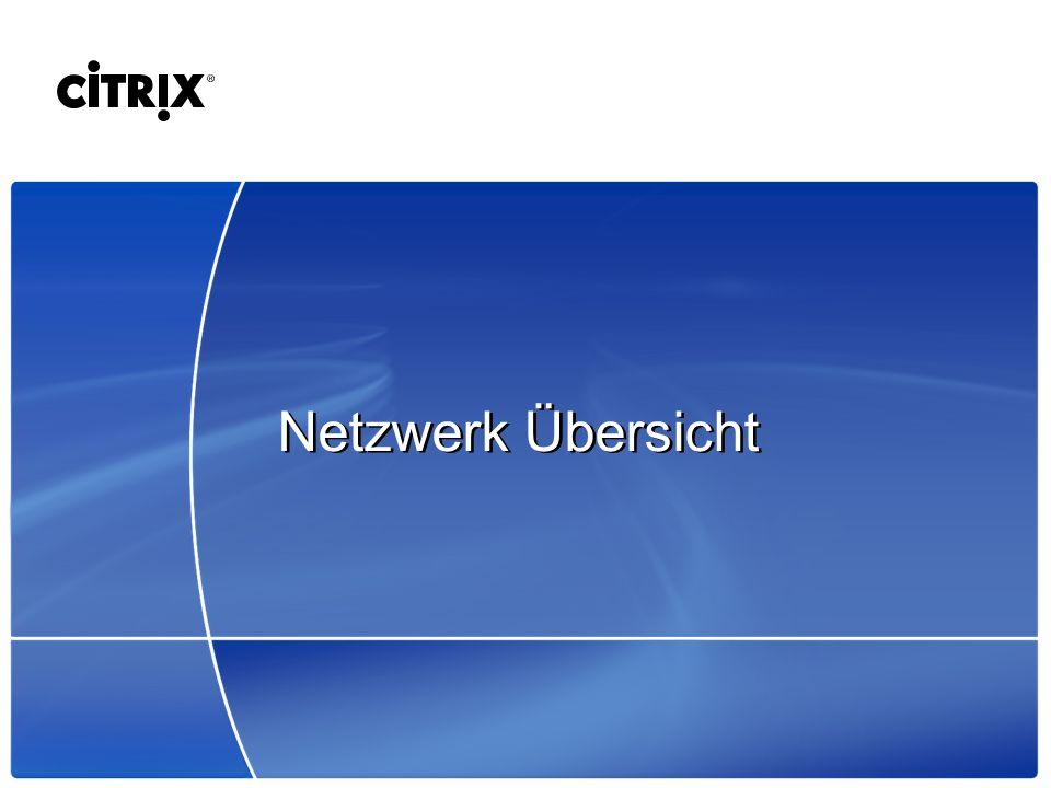 Netzwerk Übersicht