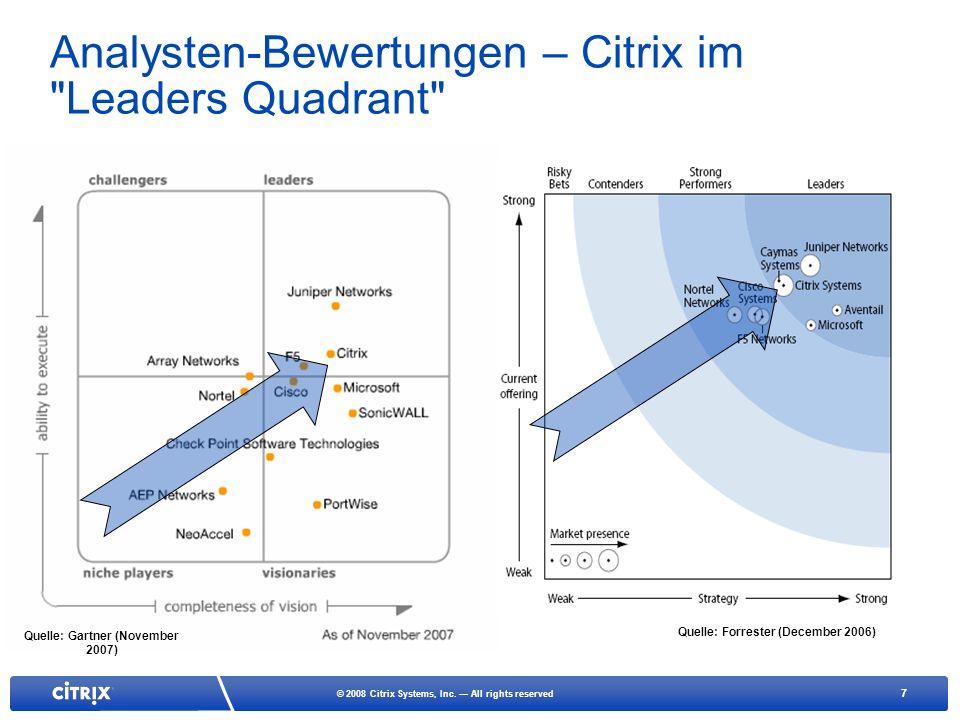 7 © 2008 Citrix Systems, Inc.