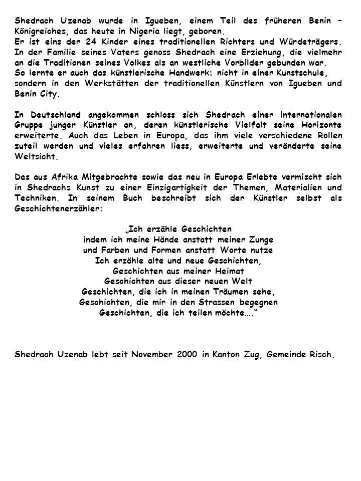Geplante Ausstellungen Sarnen, November 2009 Altstadhalle Zug, September 2009 Kornschütte Luzern, August 2009 Galerie Vielfalt, Chur, Mai 2009 Tarnogorskie Centrum Kultury, Tarnowskie Gory / Polen, April 2009 Bisherige Ausstellungen: Galerie Forum Zugerland (Migros Kulturprozent), Februar 2009 Galerie Billing Bild Baar, Dezember 2008 Neue Börse Zürich, 15.