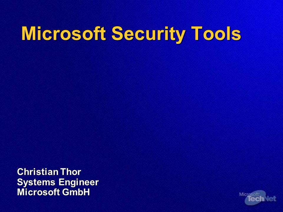Agenda Windows Security Windows Security Windows 2000 Windows 2000 Windows XP Windows XP IIS Security IIS Security Security Tools Security Tools MBSA MBSA IIS Lockdown IIS Lockdown URLScan URLScan HFNetChk HFNetChk Software Update Service Software Update Service