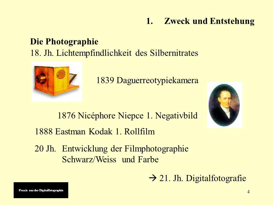 4 1839 Daguerreotypiekamera 1876 Nicéphore Niepce 1.