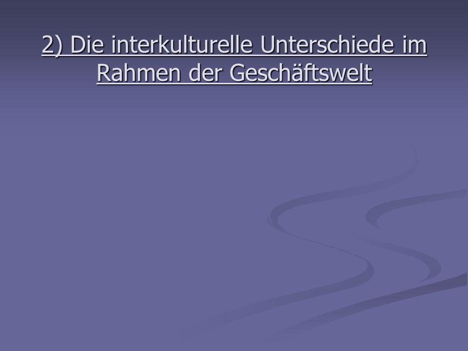 II/ Das Vertrauen zwischen Käufern und Lieferanten in Frankreich und Deutschland : Die Fallstudie 1) Die Forschungsgrunde Anpassung der Unternehmen an den internationalen Wettbewerb und an den Rückgang des Verbrauchs.