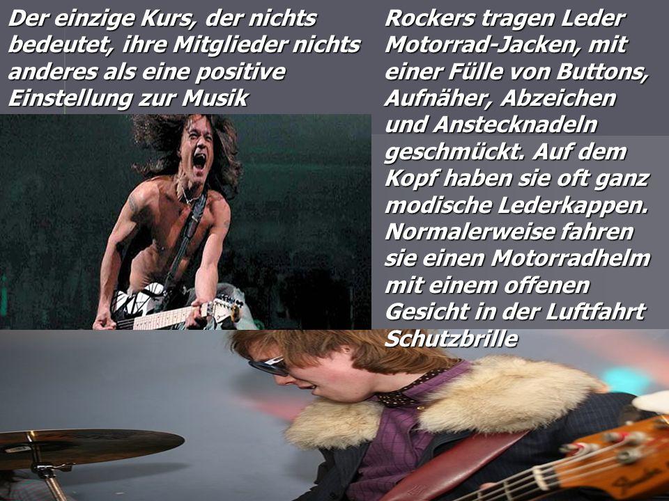Rock n Roll - es ist nicht nur Musik. Dies ist ein Weg des Lebens. Und es ist dich für immer
