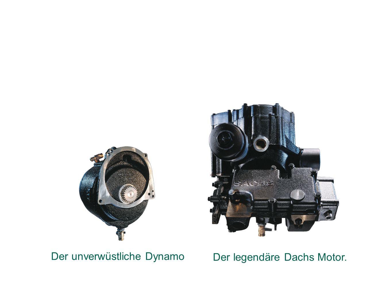 Das Herz der Maschine: Der legendäre Dachs Motor. Der unverwüstliche Dynamo