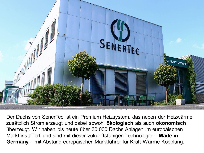Der Dachs von SenerTec ist ein Premium Heizsystem, das neben der Heizwärme zusätzlich Strom erzeugt und dabei sowohl ökologisch als auch ökonomisch üb