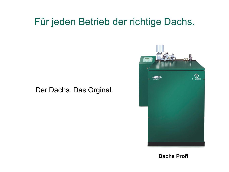 Dachs Profi Der Dachs. Das Orginal. Für jeden Betrieb der richtige Dachs.
