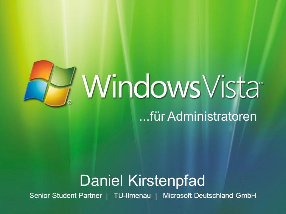 Daniel Kirstenpfad Senior Student Partner | TU-Ilmenau | Microsoft Deutschland GmbH...für Administratoren