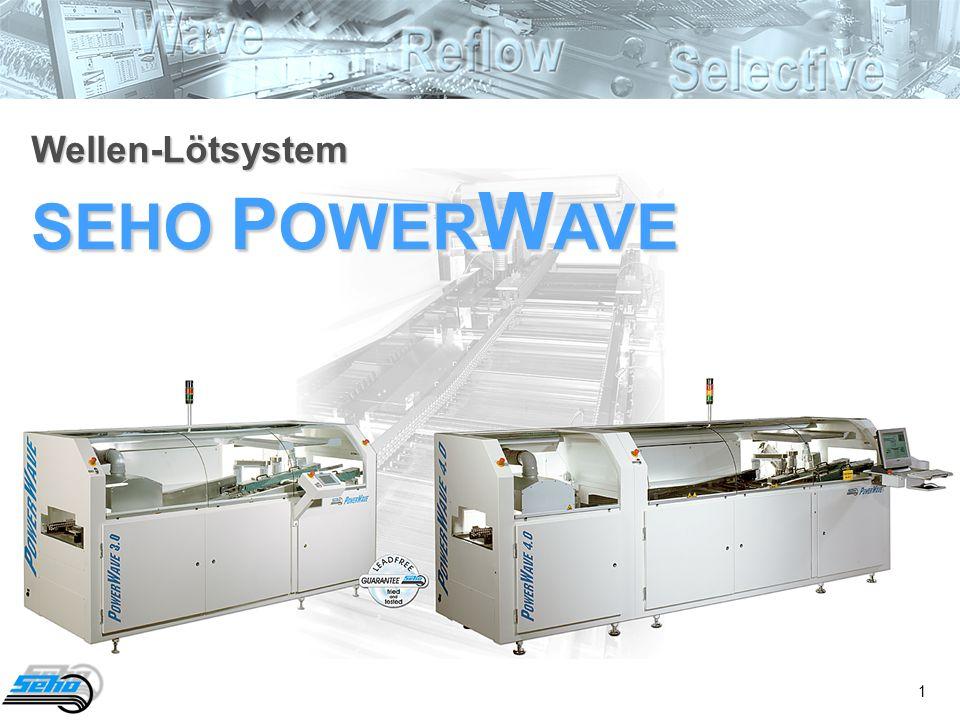 1 Wellen-Lötsystem SEHO P OWER W AVE