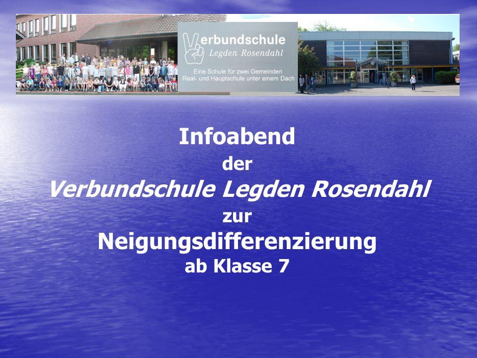 Infoabend der Verbundschule Legden Rosendahl zur Neigungsdifferenzierung ab Klasse 7
