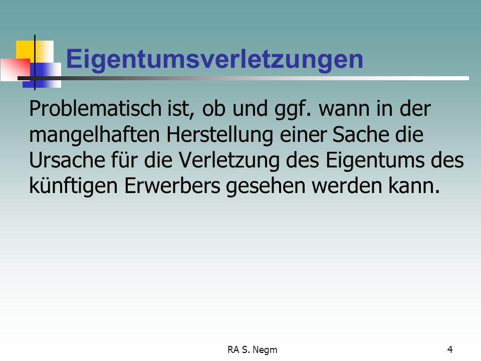 RA S.Negm4 Eigentumsverletzungen Problematisch ist, ob und ggf.