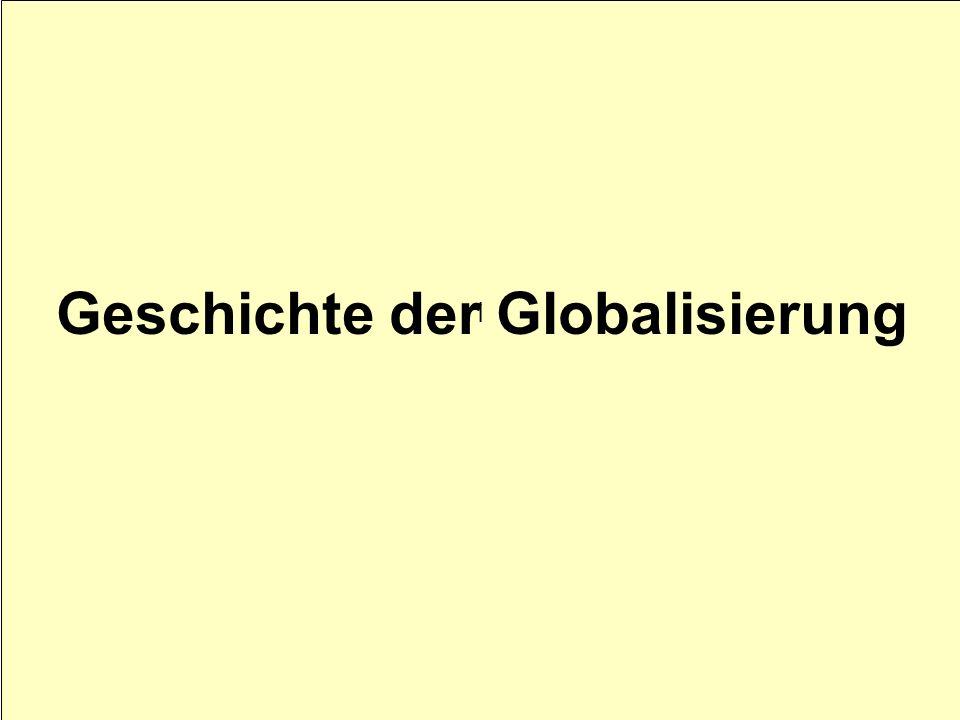 I Geschichte der Globalisierung