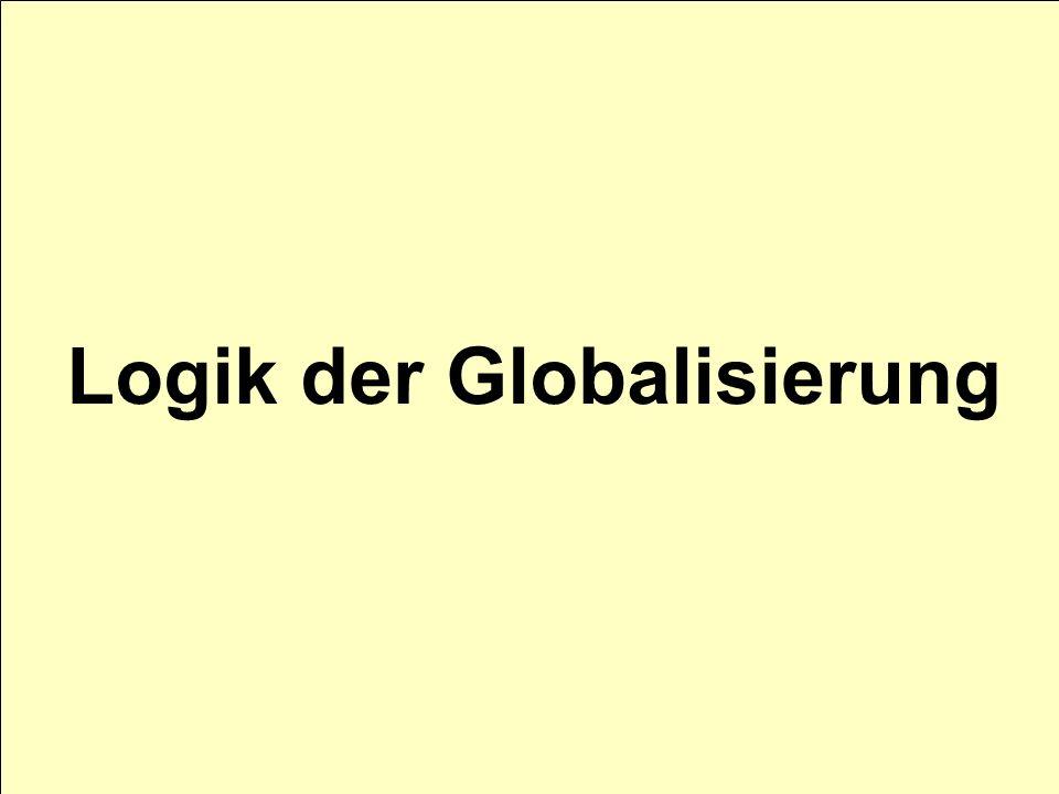 Logik der Globalisierung