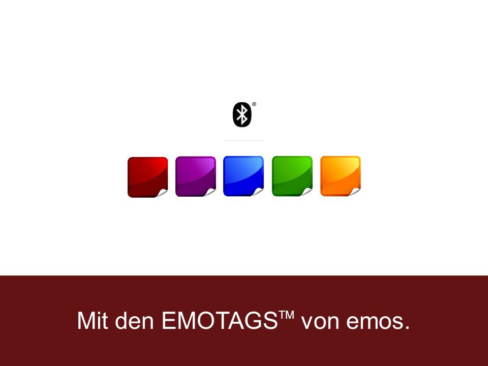 Mit den EMOTAGS TM von emos.