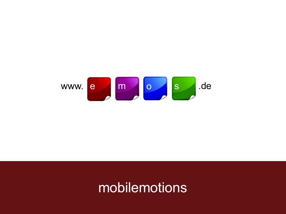 mobilemotions www.e m o s.de