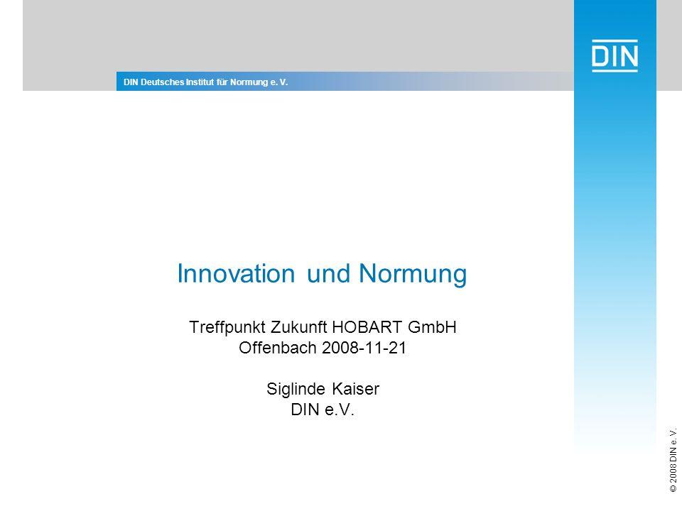 Titelmasterformat durch Klicken bearbeiten DIN Deutsches Institut für Normung e.