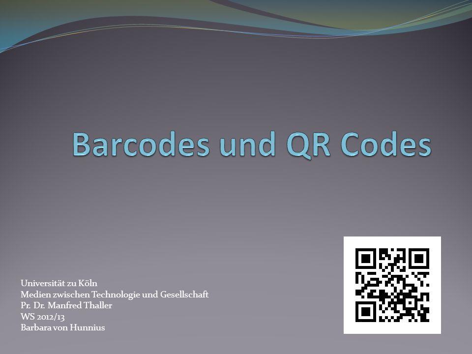 Universität zu Köln Medien zwischen Technologie und Gesellschaft Pr. Dr. Manfred Thaller WS 2012/13 Barbara von Hunnius