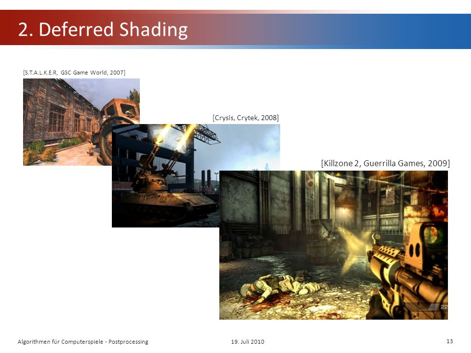 2. Deferred Shading 19.