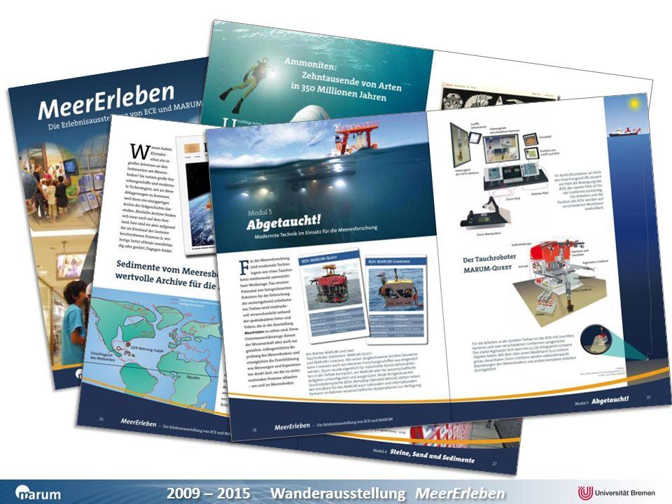 2009 – 2015 Wanderausstellung MeerErleben