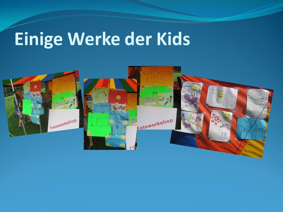 Einige Werke der Kids