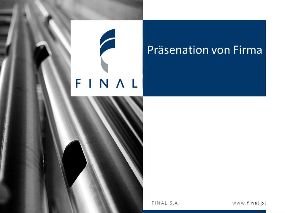 Präsenation von Firma Finalizujemy Wasze pomysły www.final.pl