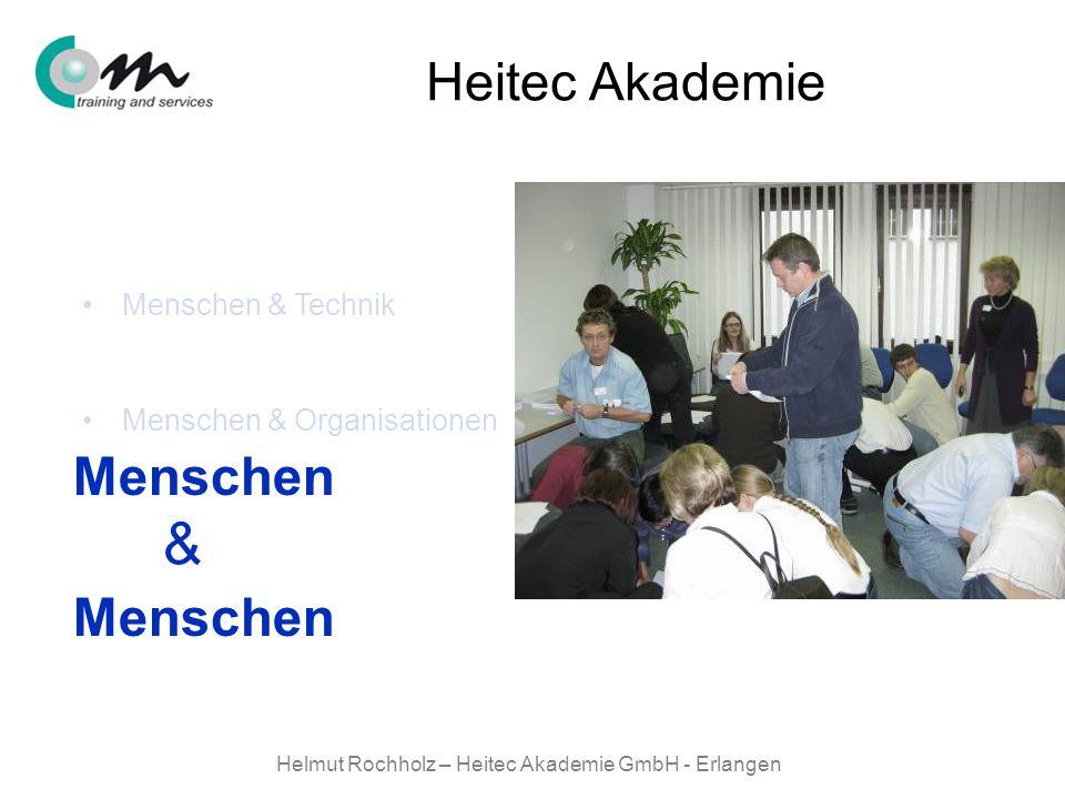 Helmut Rochholz – Heitec Akademie GmbH - Erlangen Menschen & Technik Menschen & Organisationen Menschen & Menschen Menschen & Heitec Akademie