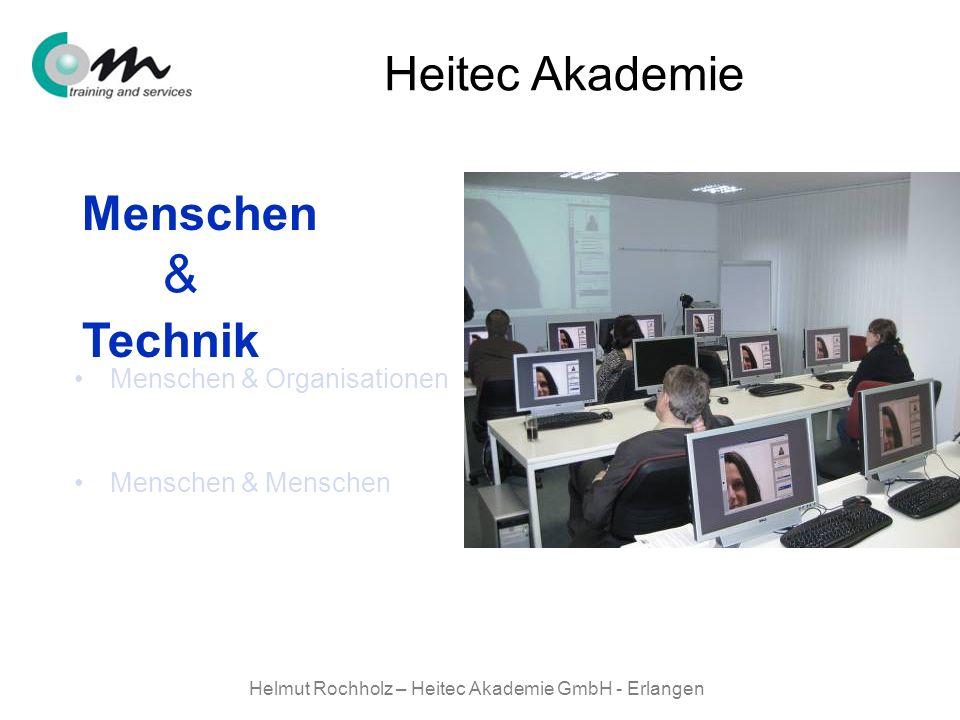 Helmut Rochholz – Heitec Akademie GmbH - Erlangen Menschen & Technik Menschen & Organisationen Menschen & Menschen Menschen Technik & Heitec Akademie