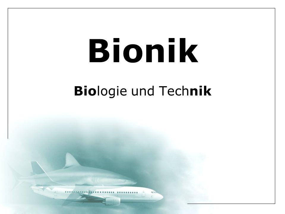 Bionik Biologie und Technik