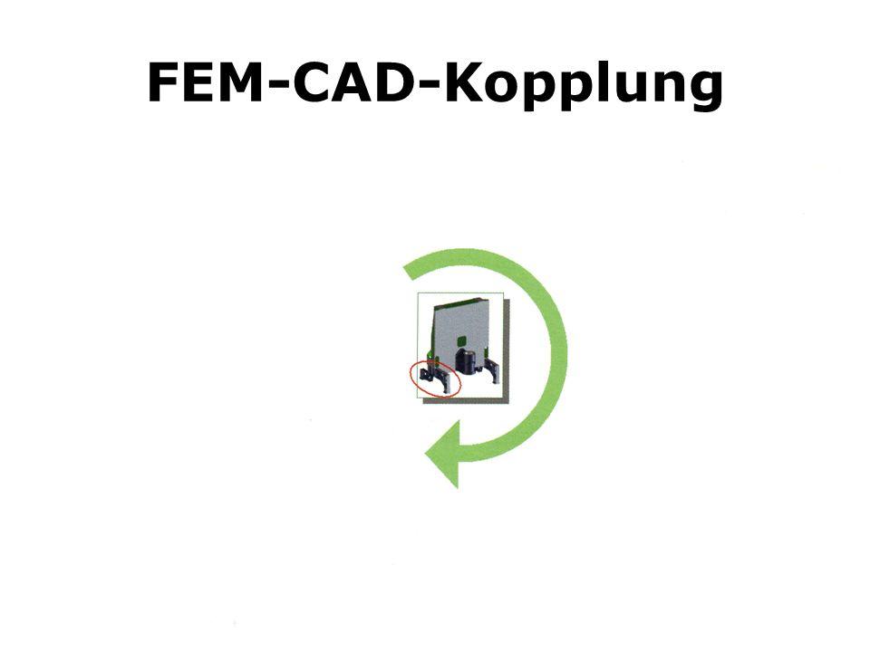 FEM-CAD-Kopplung