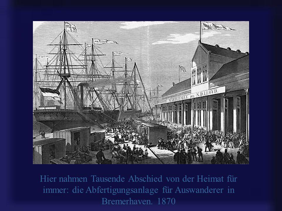 Bremerhaven liegt an der Mündung der Weser in die Nordsee und wurde 1827 als Vor-Hafen von Bremen gegründet. Auch heute noch können Schiffe auf der We