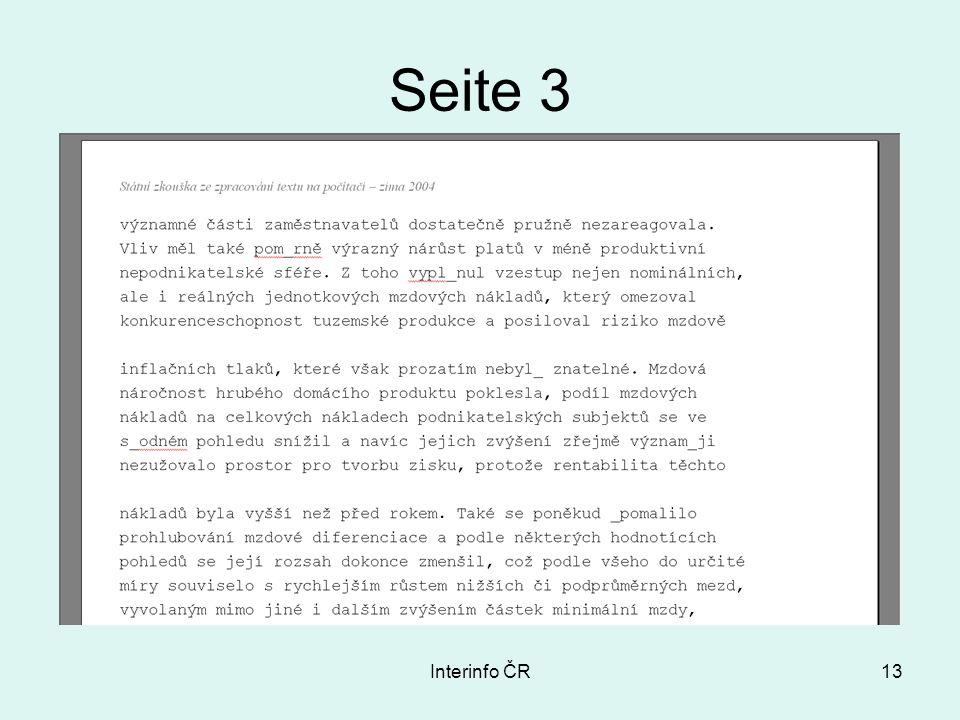 Interinfo ČR13 Seite 3