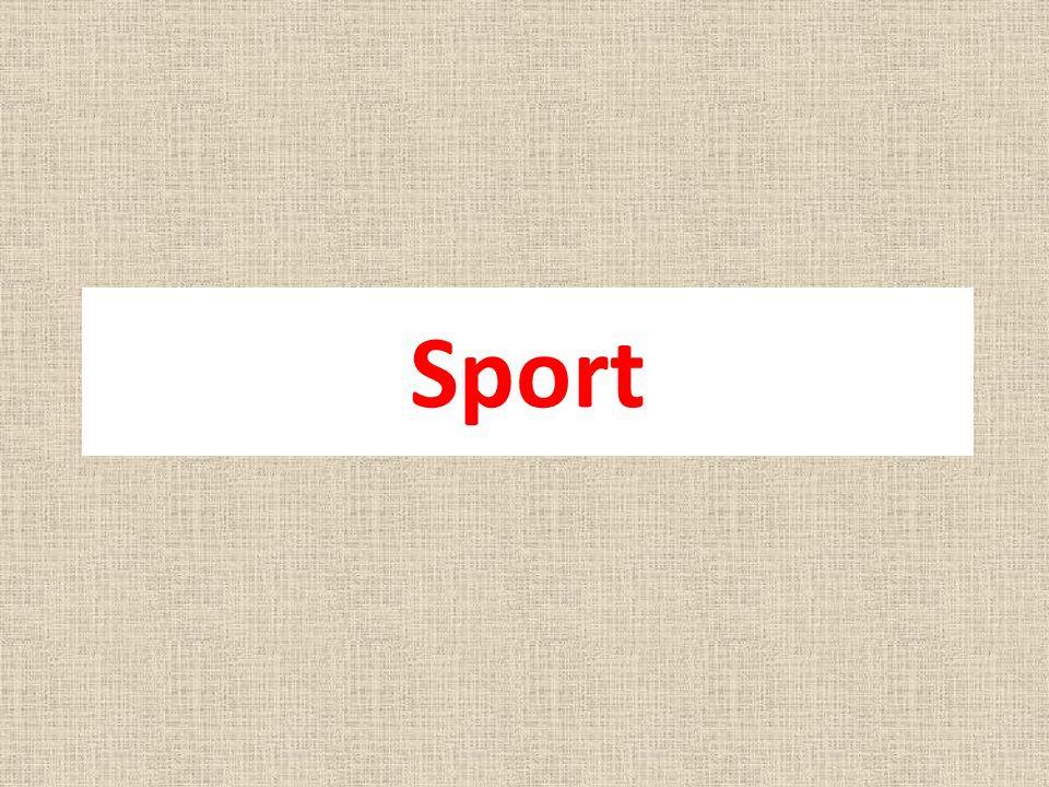1.Bedeutung des Sports 2. Sportarten, Disziplinen, Regeln 3.