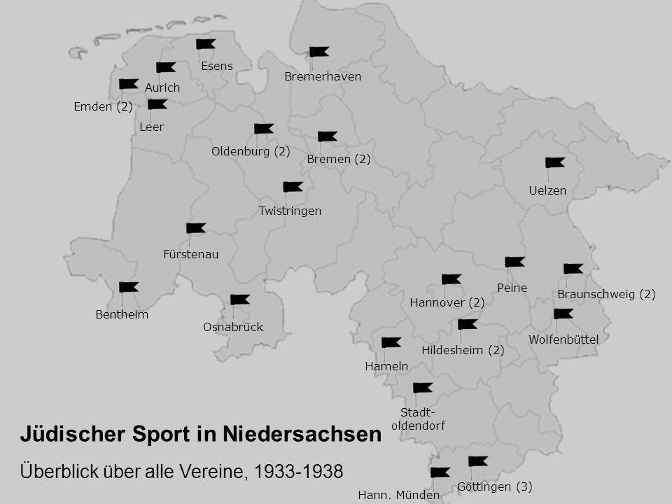 Hannover (2) Braunschweig (2) Peine Wolfenbüttel Göttingen (3) Hildesheim (2) Hameln Stadt- oldendorf Hann.