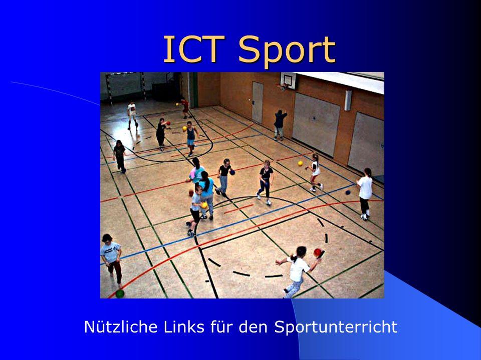ICT Sport Nützliche Links für den Sportunterricht