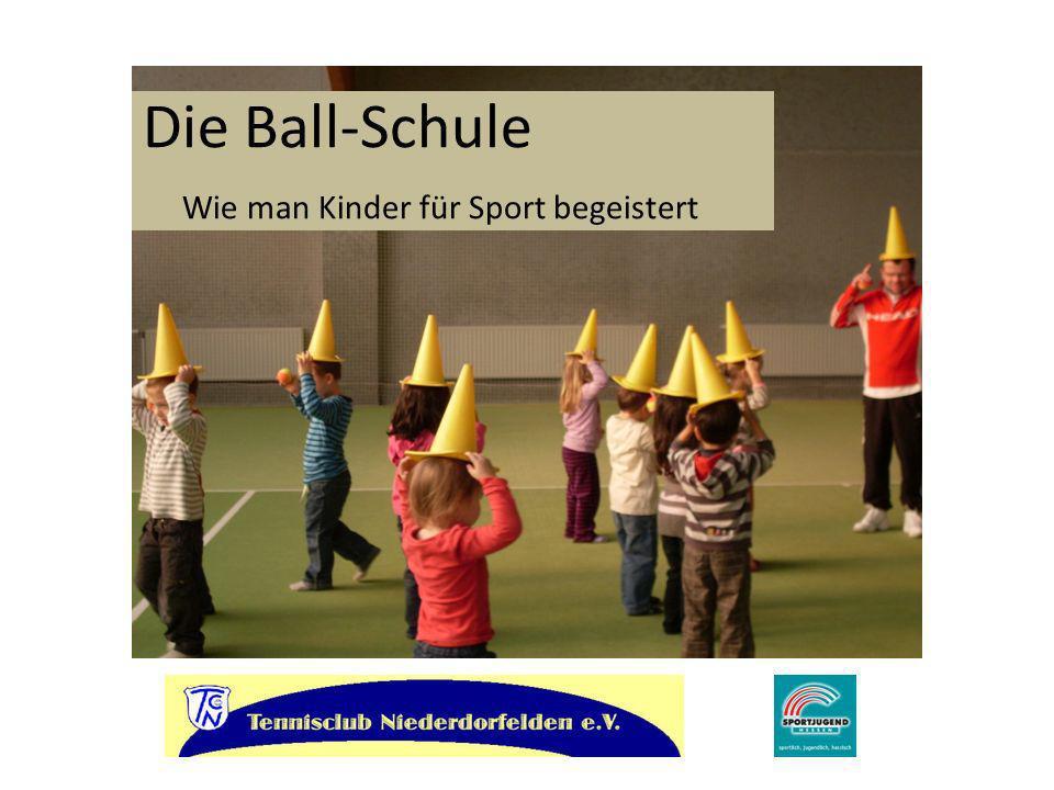 Dem Tennisclub Niederdorfelden ist es gelungen, mit der einzigartigen Idee einer Ballschule zu einem Modellprojekt der Sportjugend Hessen ausgewählt zu werden.