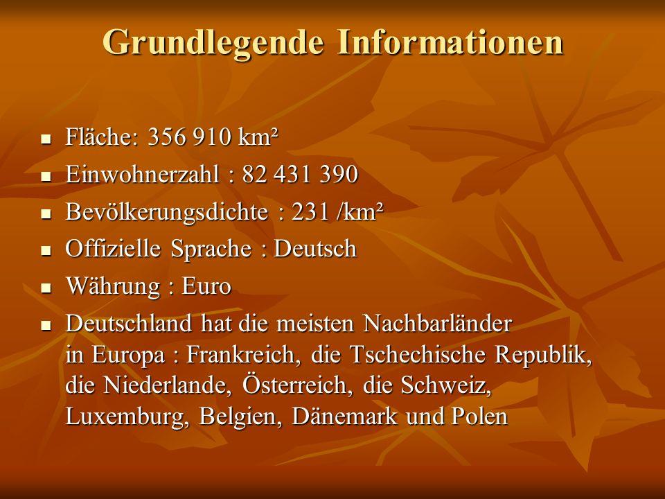 Die Bundesrepublik Deutschland besteht aus 16 Die Bundesrepublik Deutschland besteht aus 16 Bundesländern.