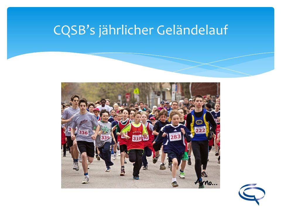 CQSBs jährlicher Geländelauf