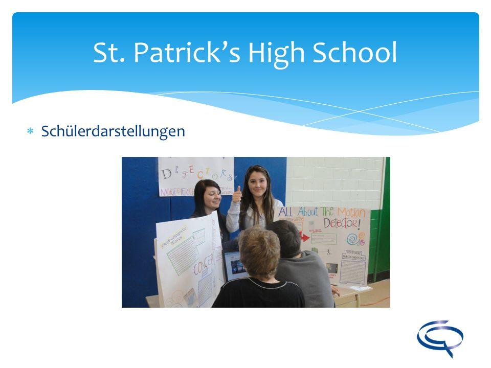 St. Patricks High School Schülerdarstellungen