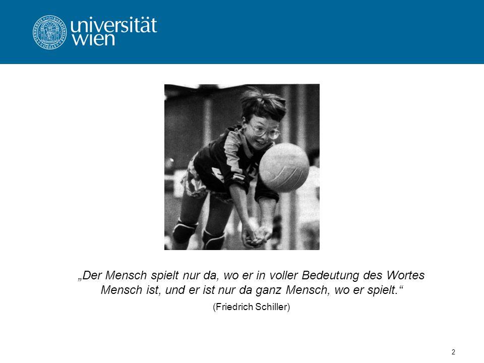 103 Globale Bedeutung der Spiele im Bewegungs- und Sportunterricht -Spiele nehmen den weitaus größten Anteil der schulsportlichen Aktivitäten weltweit ein.