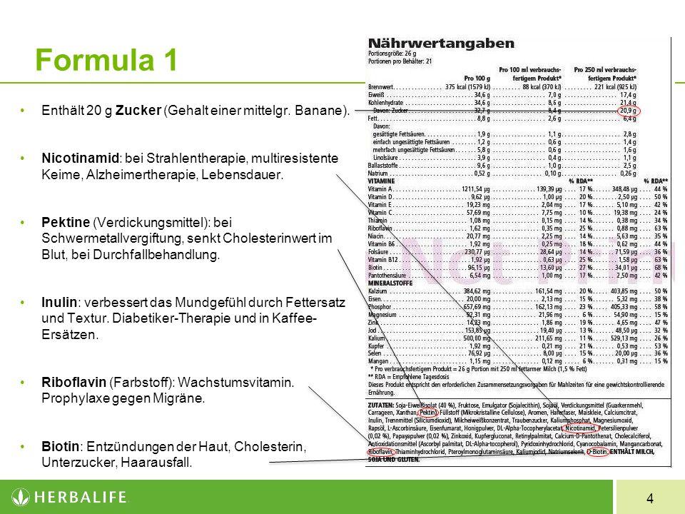 25 Herbalifeline® Thymianöl: hilft bei Katarrhen der oberen Luftwege, Bronchitis, Rheuma, Harnwegsinfektionen.