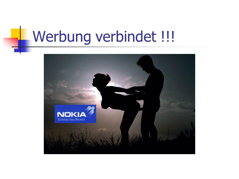 Werbung verbindet !!!
