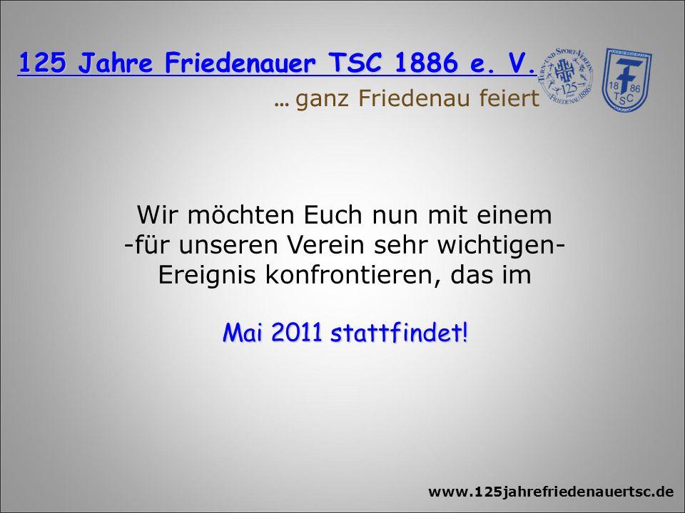 125 Jahre Friedenauer TSC 1886 e. V.