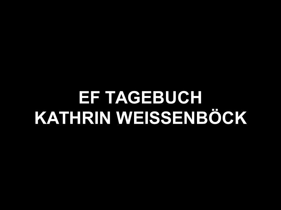 EF TAGEBUCH KATHRIN WEISSENBÖCK