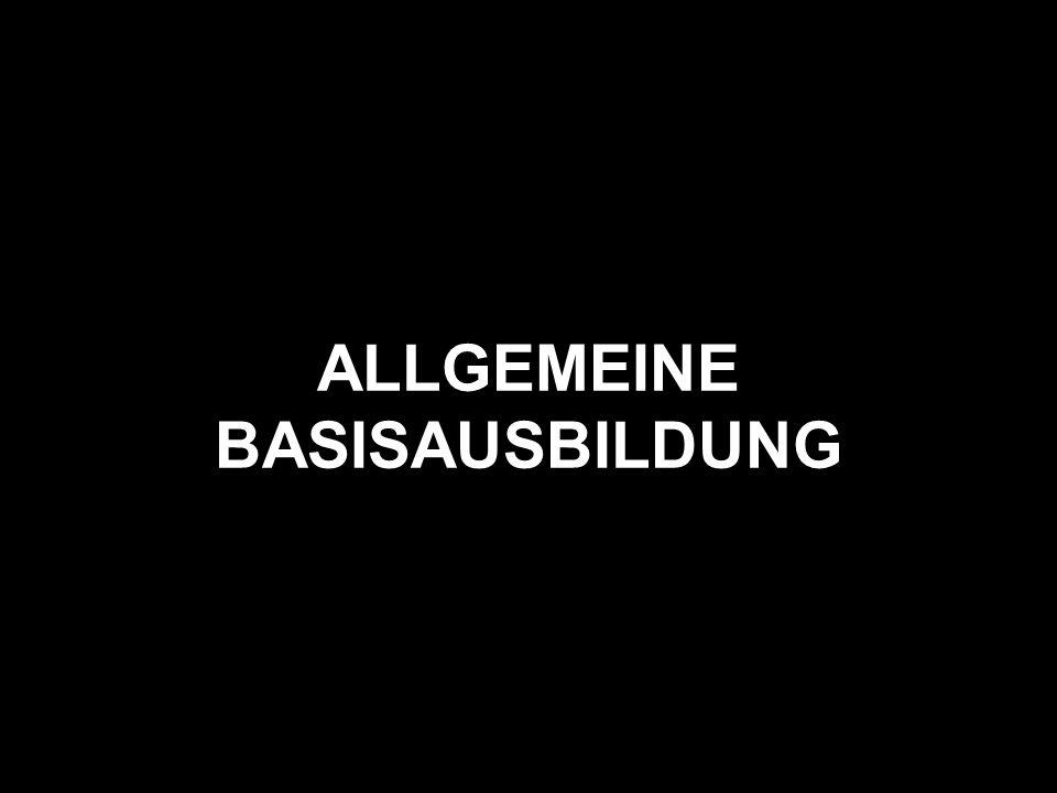 ALLGEMEINE BASISAUSBILDUNG
