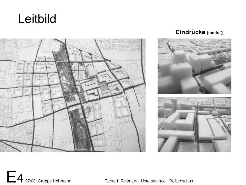 Leitbild E 4 07/08_Gruppe Hohmann Tscharf_Reitmann_Unterpertinger_Reibenschuh Eindrücke [modell]